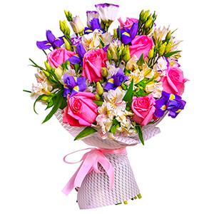 Прекрасный букет +30% цветов с доставкой в Брянске