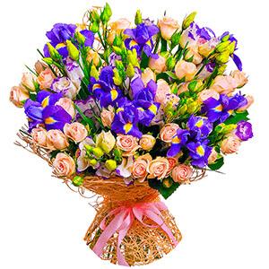 Дизайнерский букет +30% цветов с доставкой в Брянске