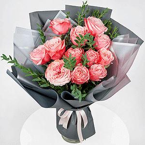 Бизнес-букет +30% цветов с доставкой в Брянске